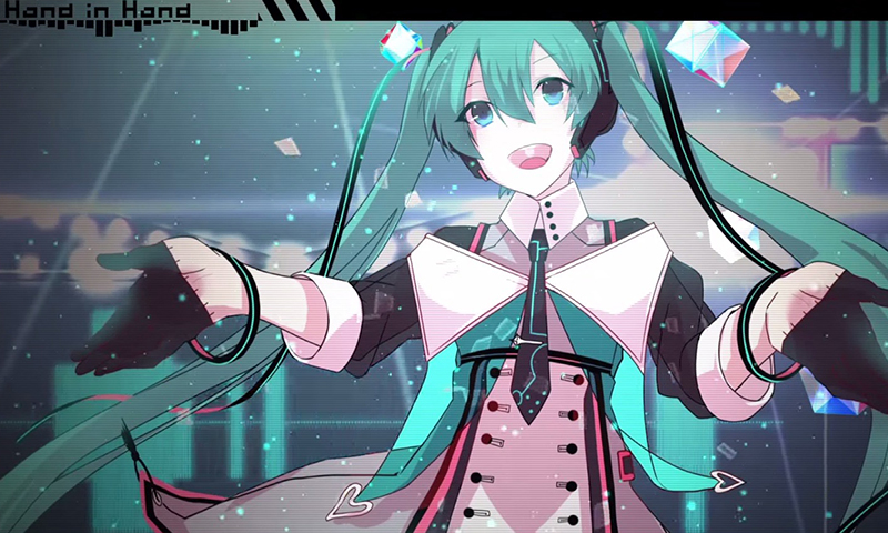 """Great Miku-Song Ever! Full MV for """"Hand in Hand"""" Composed by kz(livetune) Unveiled!"""